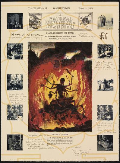 Walton Ford, 'Farewell to Ambikapur', 1995