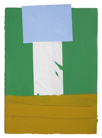 Robert Motherwell, 'In Green, with Ultramarine and Ochre', 1967