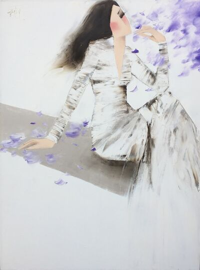 Nguyen Dieu Thuy, 'Purple Flowers', 2017