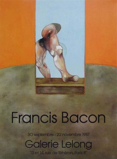 Francis Bacon, 'Untitled, 1987 Original Galerie Lelong Exhibition Poster', 1987