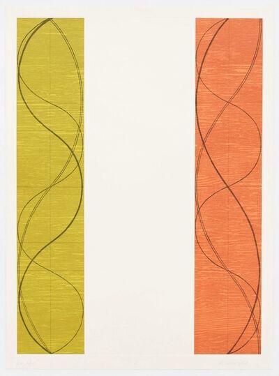 Robert Mangold (b.1937), 'Two Columns C', 2004