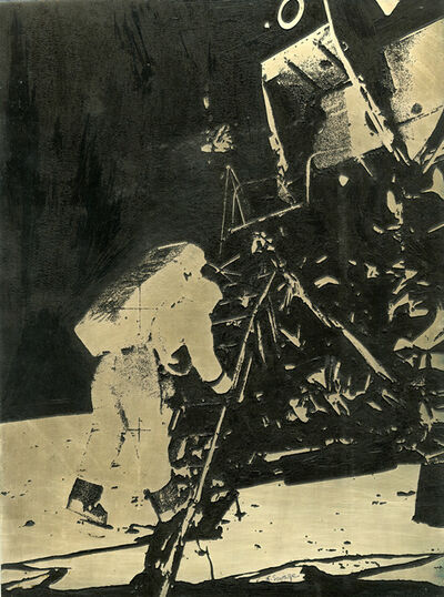 Naomi Savage, 'Aldrin Descending on the Moon-Apollo XI', 1969