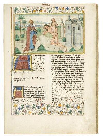"Workshop of the Rambures Master, 'Guiart des Moulins: ""Bible historiale""', 1480-1485"