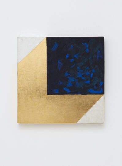 Mary Obering, 'Black and Blue', 2012