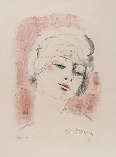 Kees van Dongen, 'Jeune Femme Blonde', 1927
