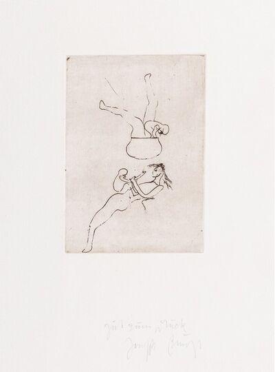 Joseph Beuys, 'Topfspiel from the portfolio Zirkulationszeit (Circulation time suite)', 1982