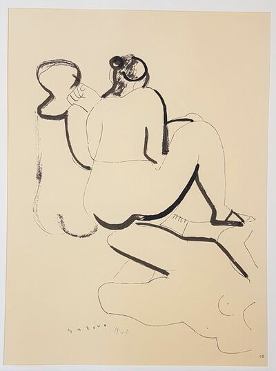 """Marino Marini, 'Forms - From """"A Suite of Sixty-three Re-creations of Drawings and Sketches in Many Mediums"""" ', 1968"""