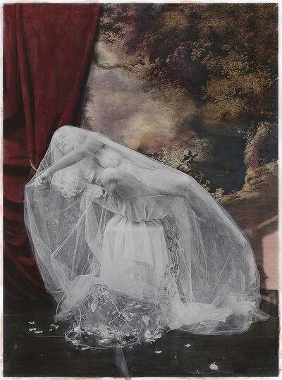Katie Eleanor, 'Cleansing A Shrike (Blackbird's Birdbath)', 2018