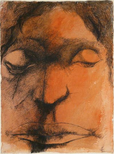 Leonard Baskin, 'Brooding', 1981
