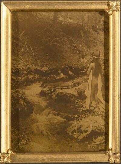 Edward Sheriff Curtis, 'Maid of Dreams', circa 1909