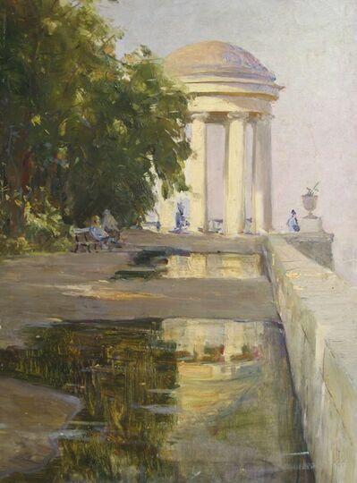 Aleksandr Nikiforovich Chervonenko, 'Shrine in Volga River', 1989