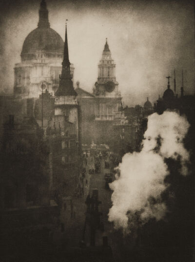 Alvin Langdon Coburn, 'St. Paul's Cathedral from Ludgate Circus', 1905