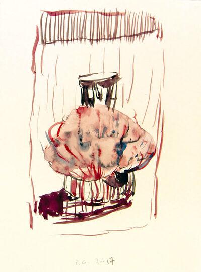 Pietro Geranzani, 'studio per Uovo Cosmico'