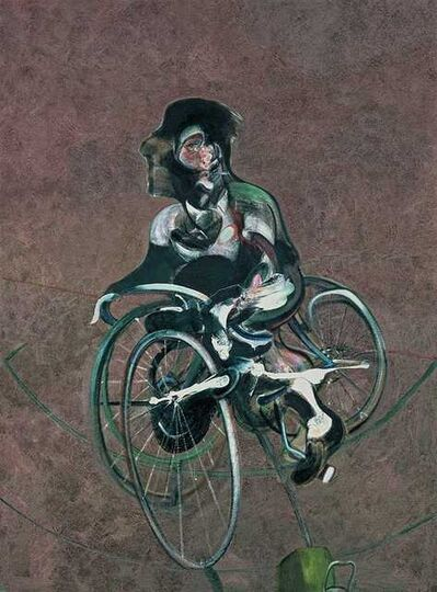 Francis Bacon, '1909 - 1992 Portrait of George Dyer Riding a Bicycle'