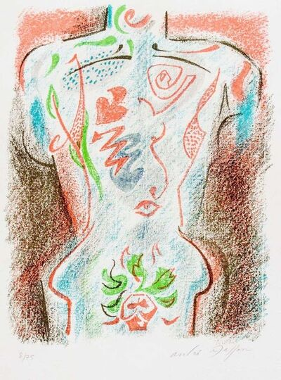 André Masson, 'Torse Tatoué', 1940s