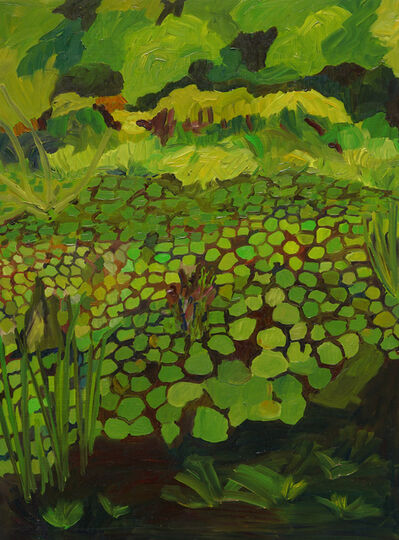 Yvonne Troxell Lamothe, 'Wetlands, Blue Hills, three', 2020