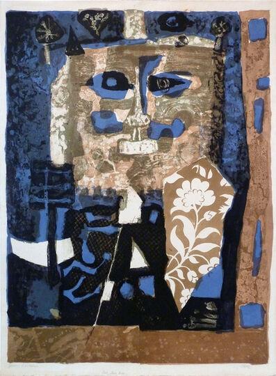 Antoni Clavé, ' Affiche avant la lettre pour l'exposition à la Galerie Beyeler', 1957