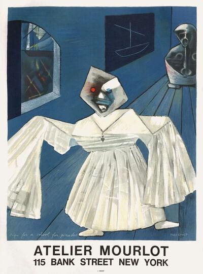 Max Ernst, 'Atelier Mourlot', 1967