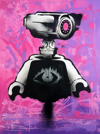 Ame72, 'Big Brother - Pink', 2017