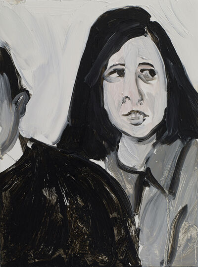 Chantal Joffe, 'Susan Sontag', 2014