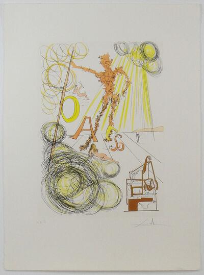 Salvador Dalí, 'La linotype, from Hommage a Leonardo da Vinci', 1975