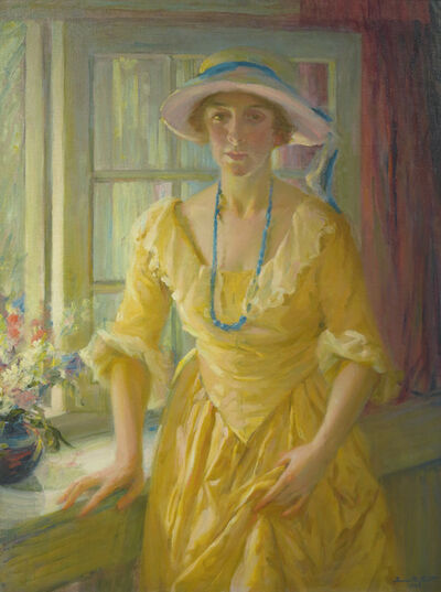 Jeannette Scott, 'The Apartment Window', 1926
