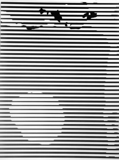 """Gottfried Jäger, 'Variation 2-157 (Photo graphic work from the series """"Theme and Variations II"""" (Crack), 1962-1965)', 1965"""