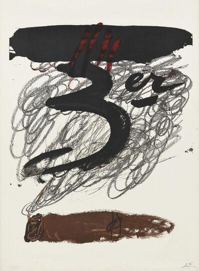 Antoni Tàpies, 'Festival Internacional de Cadaqués', 1972