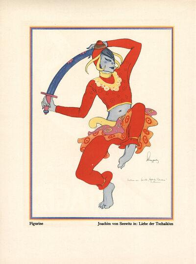 """Walter Schnackenberg, '""""Joachim von Seewitz"""", Kostume, Plakate und Decorationen', 1920"""