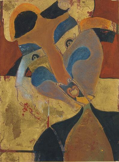 Francisco Toledo, 'Mujer con trenzas', 1965