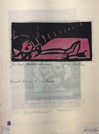 Conrad Felixmuller, 'Lieder des Pierrot Lunaire ', 20th Century