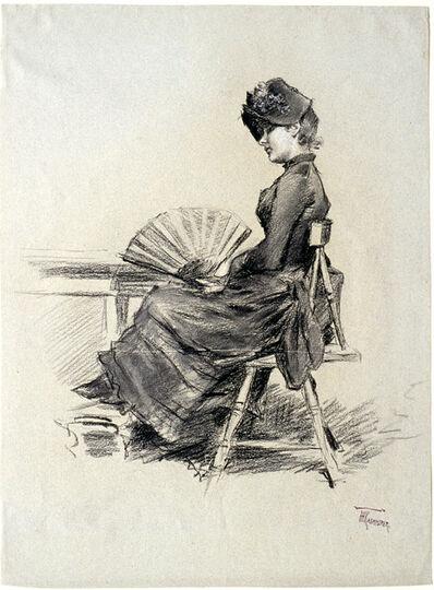 Frederik Kaemmerer, 'Seated Woman', 1849-1902