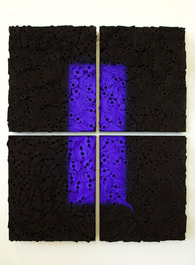 Jae Ko, 'JK2101 Ultramarine Blue with Black', 2020