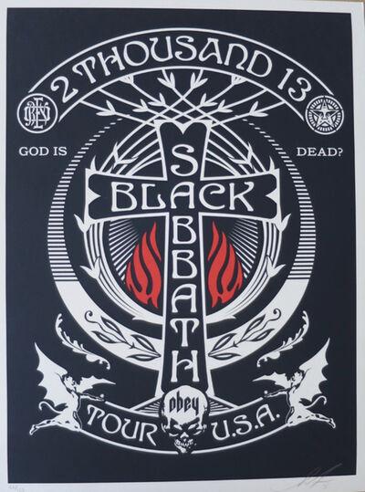 Shepard Fairey, 'Silver Black Sabbath', 2013