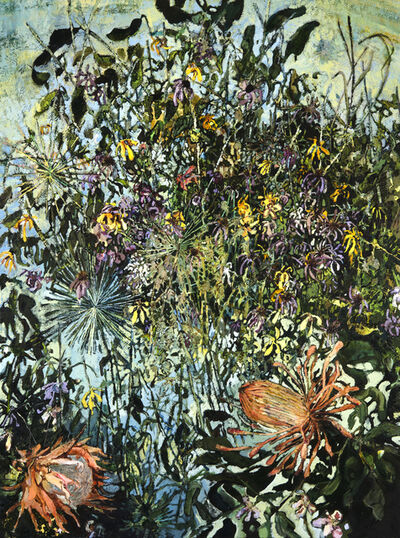 Rebecca Saylor Sack, 'Protea and Allium ', 2017