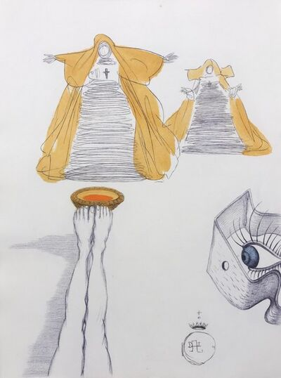Salvador Dalí, 'Casanova - Eye Watches From Peephole', 1967