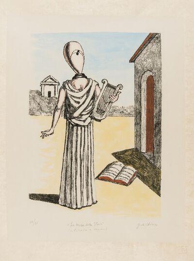 Giorgio de Chirico, 'La Musa della Storia (Brandani 152)', 1972