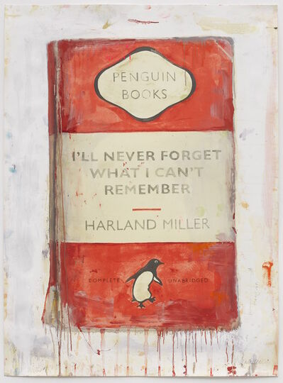 Harland Miller, 'I'll Never Forget What I Can't Remember', 2019