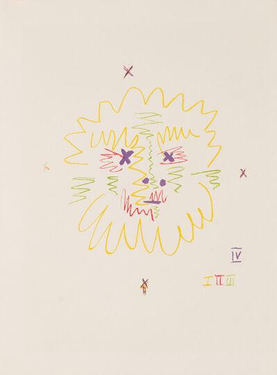 Pablo Picasso, 'Tête de Faune', April 7-1956
