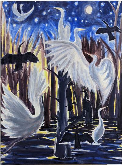 Tamara Krendel, 'Bird Tree & Moon', 2021