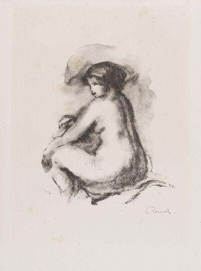 Pierre-Auguste Renoir, 'Étude de femme nue, assise (Delteil, 42)', 1904
