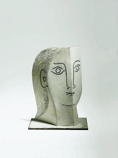 Pablo Picasso, 'Tête de femme (Head of a Woman)', 1961