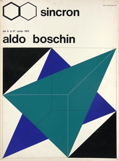 Aldo Boschin, 'Bozzetto Sincron', 1972