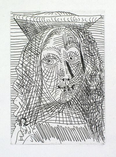 Pablo Picasso, 'Jeune Dame Espagnole', 1968