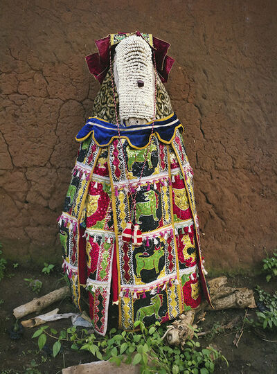 Leonce Raphael Agbodjelou, 'Egungun Masquerade V', 2015