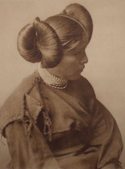 Edward Sheriff Curtis, 'A Hopi Girl, Plate 406', 1905