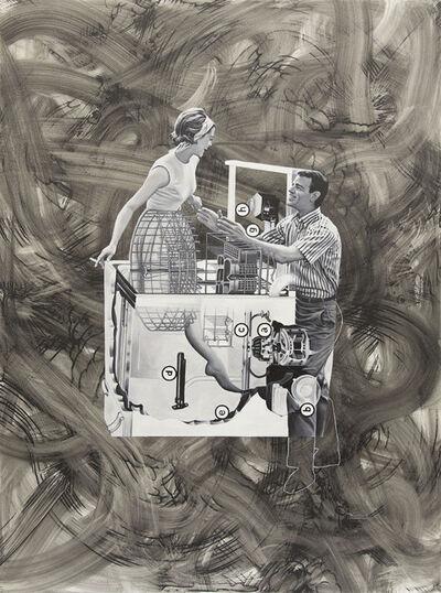 Jim Shaw, 'Man-Machine (couple and dishwasher)', 2017
