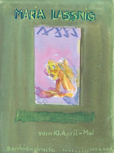 Maria Lassnig, 'untitled', 1983