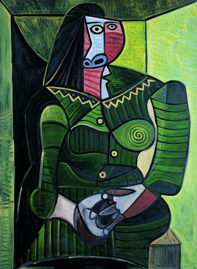 Pablo Picasso, 'Femme en vert (Dora) (Woman in Green, Dora)', 1944