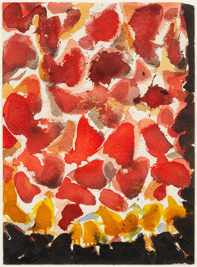 Sam Francis, 'Red, Yellow, and Black (SF54-069)', 1954